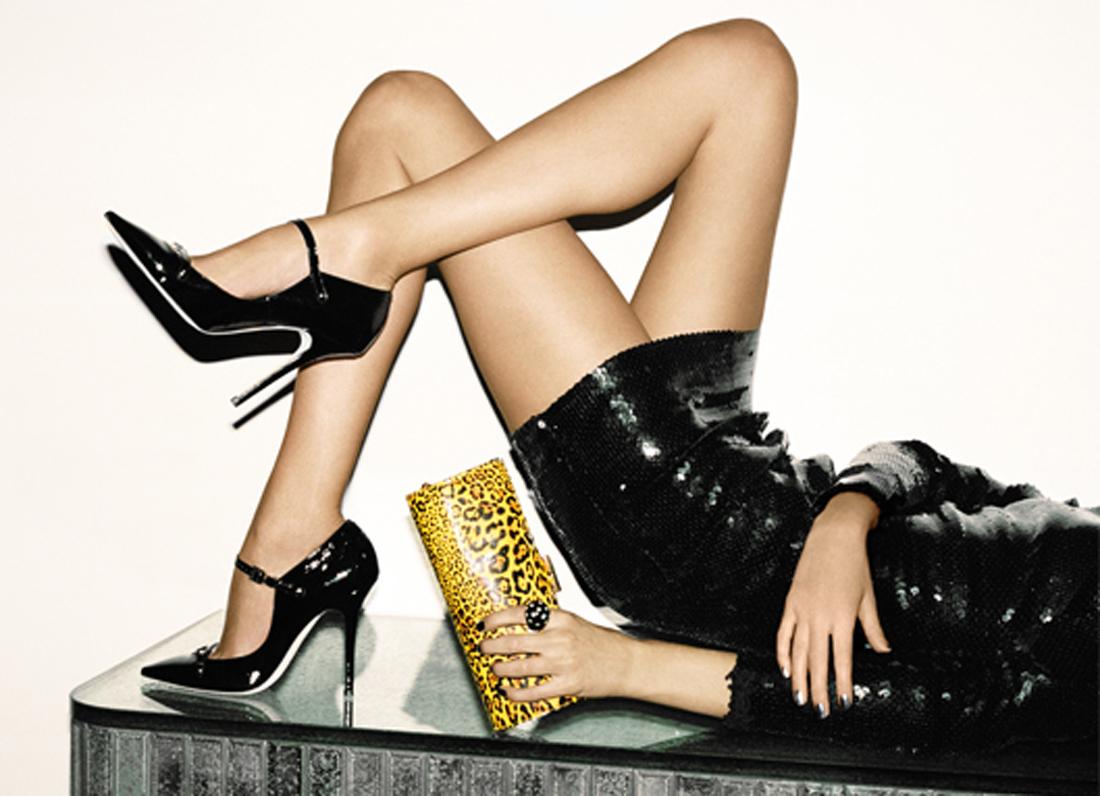 Сексуальные каблуки, пайетки и стразы, роскошный бархат, лакированная